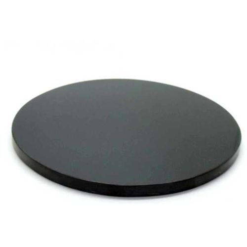 Marmo nero Fotomarmo rond D=100x8mm