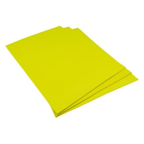 "Laser Stamp Rubber ""No smell"", color yellow, 2,3mm, A4 size"